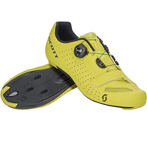 SCOTT 251817, Scarpa Ciclismo Uomo, Giallo/Nero, 40.0