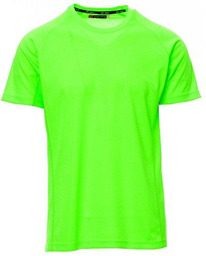 S.B.J - Sportland Funktionsshirt/Laufshirt/Sportshirt Performance T-Shirt neongrün, Gr. S