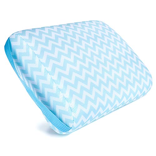 Kenley Hot Tub Booster Seat - Submersible Weighted Jacuzzi Spa Pillow - Washable Cushion Cover