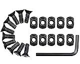 GOTICAL M-Lok Replacement Screws mlok Rail T Nut Replacement 8 Screws Set of Screws