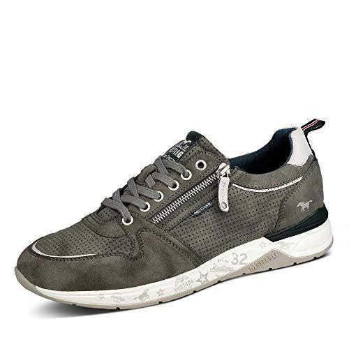 Mustang 4164-302, Zapatillas de baloncesto para hombre, Gris (gris), 47 EU