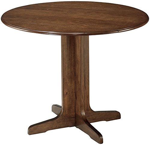 Signature Design by Ashley - Stuman Dining Room Table - Drop Down Leaves - Medium Brown