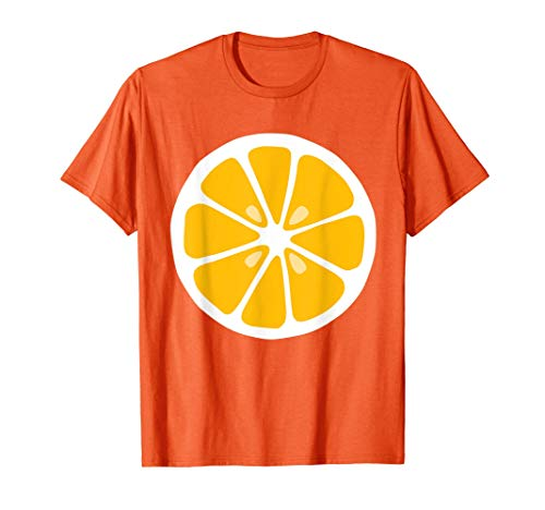 Disfraz del Grupo de Fruta Naranja Camiseta