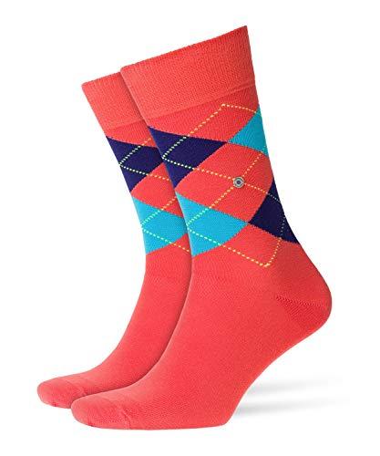 BURLINGTON Herren Socken King, Baumwollmischung, 1 Paar, Rot (Red/Red 8814), Größe: 40-46