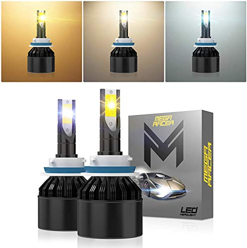 Mega Racer YOW Series LED Headlights H11H8H9