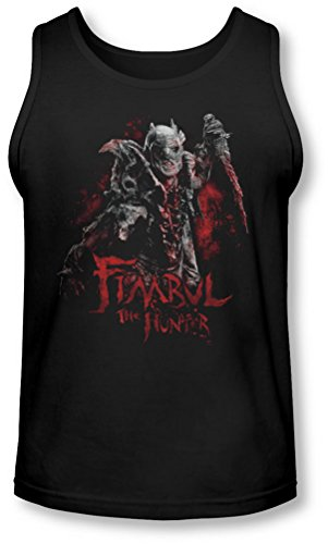 The Hobbit - - Fimbul Le chasseur Tank-Top pour hommes, Large, Black