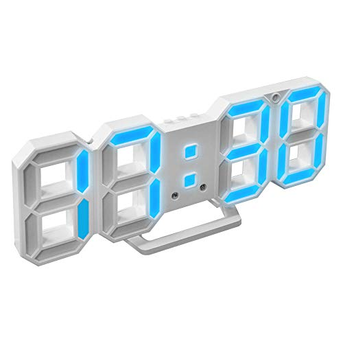 LEDデジタル時計 電子時計 目覚まし 多機能 高精度 自動点灯 温度計室内 ホーム レディース メンズ カレンダー 壁掛け 置時計 おしゃれ 可愛い 明るさ調整 輝度調整可能 良品優選