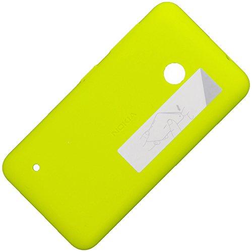 Original Akkudeckel hell gelb für Nokia Lumia 530 und 530 Dual Sim