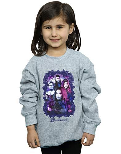 Disney Mädchen The Descendants Group Attitude Sweatshirt Sport Grau 12-13 Years