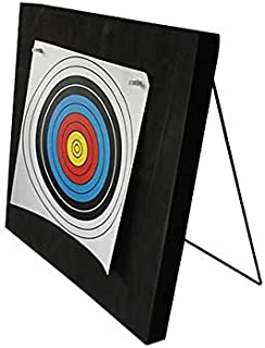 KHAMPA Economy Foam Archery Target - 2 x 2 Feet - Includes 2 Paper Targets and Push Pins - for Less Than 40 lb Bows