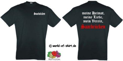 world-of-shirt Herren T-Shirt Saarbrücken Ultras meine Heimat