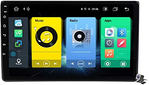 Android 9.1 Navegación GPS Radio Estéreo para Audi A4 B6 2000-2009 9'Car Media Player Soporte Carpaly / 5G FM RDS/Control Volante/Bluetooth Manos Libres