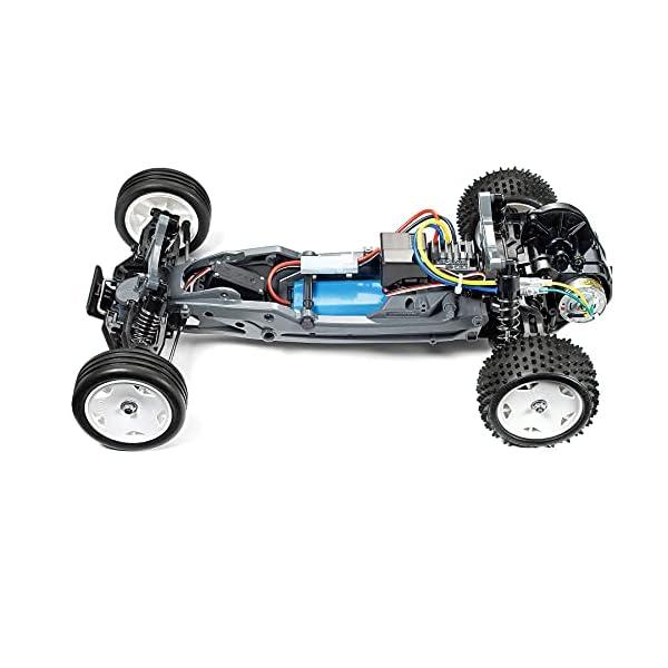 Tamiya 1:10 RC Neo Fighter Buggy DT-03-coche teledirigido, vehículo, modelismo, Kit para Montar, Hobby, Tinkering, Color…