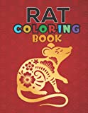 Rat Coloring Book: An Awesome Cute Animal 30 rats drawings, adults relaxation, coloring book for kids, for girls Stress-relief Coloring Book For Adults and Grown-ups