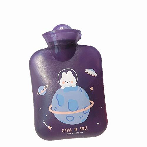 manyan Hot Water Bottle,400Ml Hot Water Bottle Nuanshou Color Cute Injection Portable Water Bottle Hot Water Bottle