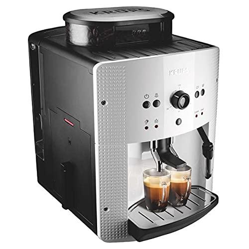 Krups Roma EA810570 - Cafetera superautomática 15 bares de presión, 3 niveles de intensidad de café, cantidad ajustable de 20ml a 220ml, programa automático de limpieza