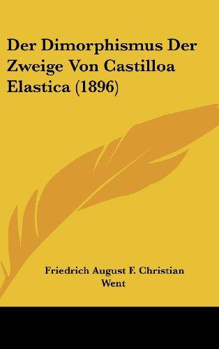 Der Dimorphismus Der Zweige Von Castilloa Elastica (1896)