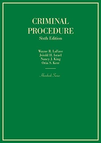 Criminal Procedure (Hornbooks) (English Edition)