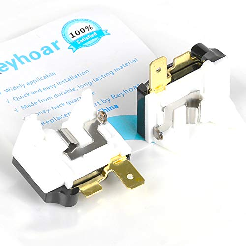 Reyhoar 2 Pcs 6750C-0005P Refrigerator Overload Protector Replacement Part, Compatible with Kemoe & LG Refrigerators - Replaces AP4439459, 1357963, AH3529540, EA3529540, PS3529540
