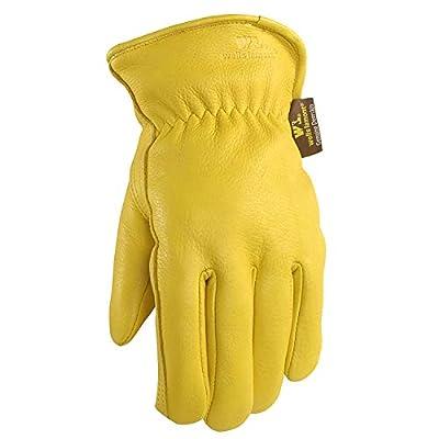 Wells Lamont Grain Gold Deerskin Work Gloves
