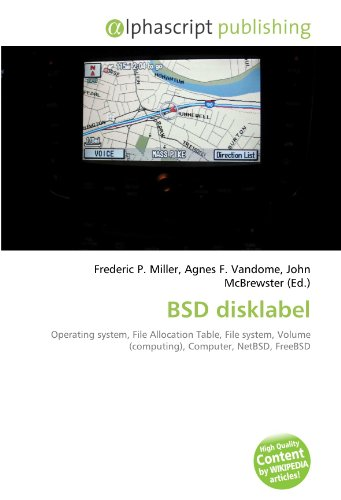 BSD disklabel: Operating system, File Allocation Table, File system, Volume (computing), Computer, NetBSD, FreeBSD