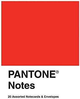 Pantone Notes: 20 Assorted Notecards & Envelopes