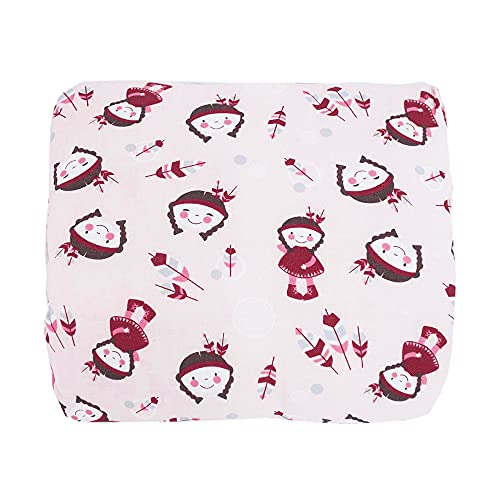 HOBEA-Germany Mini Almohada de Lactancia Almohada de Lactancia de Brazo pequeña Almohada de Lactancia para Viajar Almohada de Lactancia de Viaje en Diferentes diseños (Chica India)