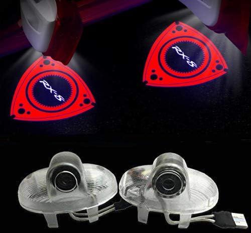 Sunshine Fly 2 Stück Autotür Projektor Türbeleuchtung Logo Leuchten Kfz Türen Einstiegsbeleuchtung Led Willkommen Emblem Projektion 3d Türlicht Auto