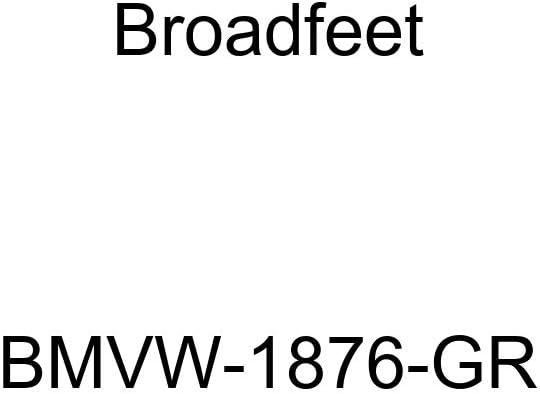 2011-2016 Volkswagen Touareg Row 1 /& 2 Tan Broadfeet BMVW-1876-TN Floor Liner