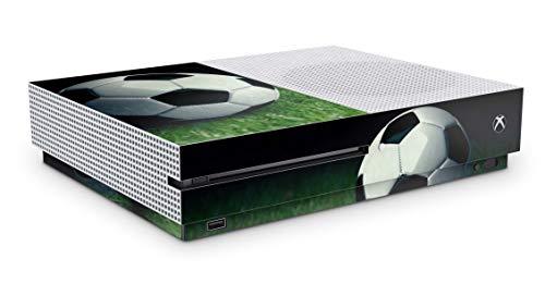 Design Aufkleber Skin Vinyl Schutzfolie kopatibel mit Xbox One S Soccer