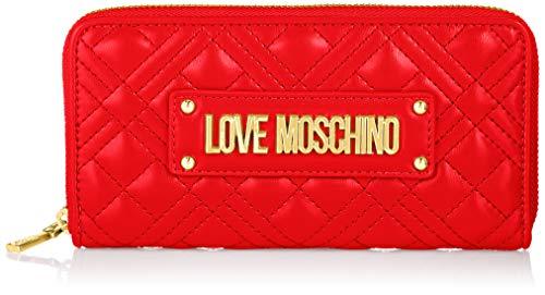 Love Moschino JC5630PP0BKA0, Portafogli Donna, Rosso, Normale