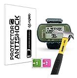 Protector de Pantalla Anti-Shock Anti-Golpe Anti-arañazos Compatible con Garmin Foretrex 401