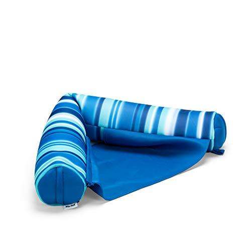 Big Joe Mesh Noodle Sling, Blurred Stripe Blue