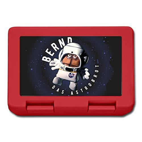 Bernd Das Brot Das Astrobot Lunchbox, Rot