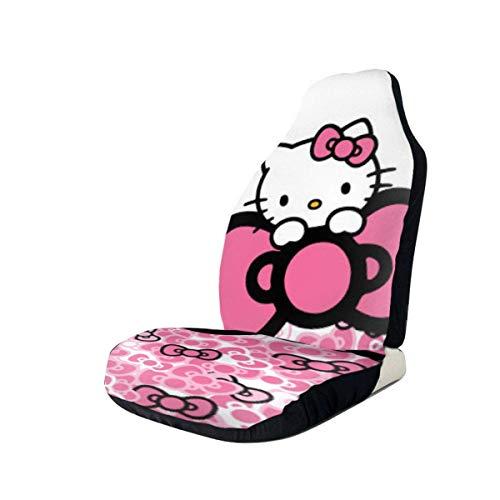 Hello Kitty Cartoon Cute Fundas para asientos de coche Alfombrilla interior Cojín Accesorios para a