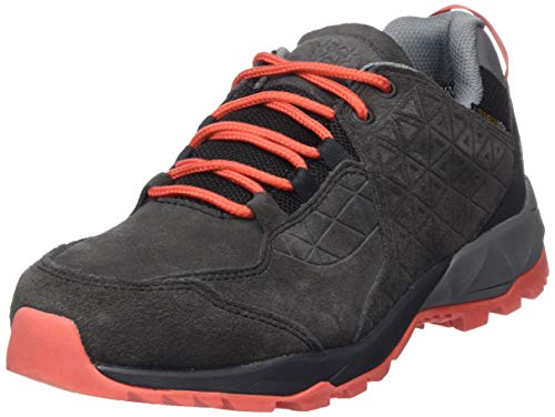 Jack Wolfskin Damen Cascade Hike LT Texapore Low W Walking-Schuh, Phantom/orange, 42 EU