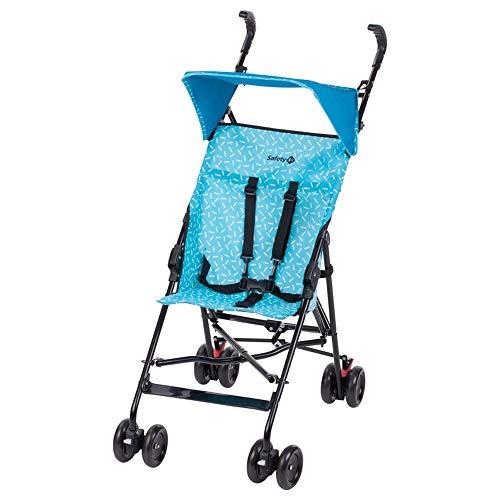 Safety 1st Peps Buggy mit Sonnenverdeck, wendiger Kinderwagen nutzbar ab 6 Monate bis max. 15 kg, kompakt zusammenfaltbar, mit Feststellbremse und 5-Punkt-Gurt, wiegt nur 4,5 kg, Super Blau
