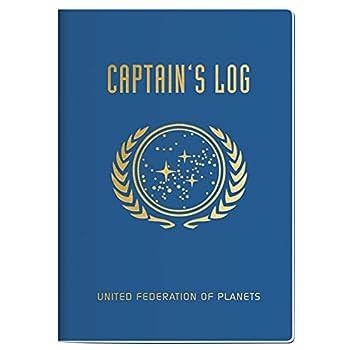 Star Trek Captain s Log Passport Sized Mini Notebook