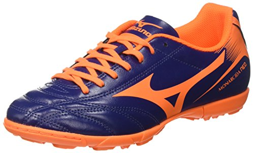 Mizuno Monarcida Neo AS, Scarpe da Calcetto Uomo, (BlueDepths/OrangeClownFish), 41 EU