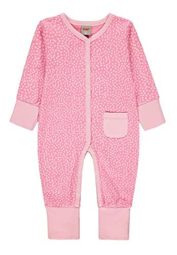 Kanz Baby-Mädchen 1tlg. Schlafanzug Schlafstrampler, Mehrfarbig (Allover|Multicolored 0003), (Herstellergröße: 62)