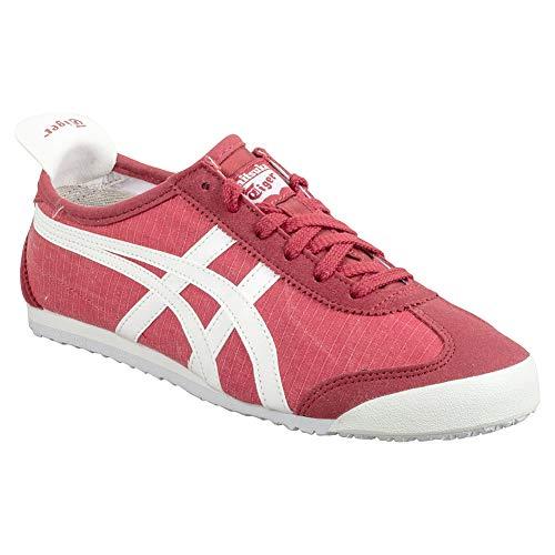 Onitsuka Tiger Sneaker - Mexico 66 Vulc Suede, Rot - Klassisches Rot und Weiß - Größe: 34 EU