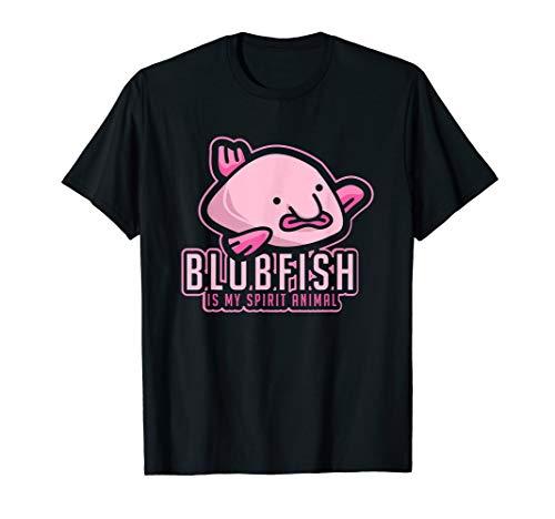 Blobfish Is My Spirit Animal - Lustiges Blobfisch T-Shirt