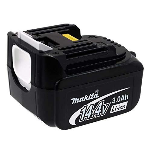 Powery Batterie pour Outil Makita de Type BL1430 (remplace BL1415) 3000mAh Originale, 14,4V, Li-ION [ Batterie Outil électroportatif ]