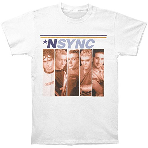 American Classics NSYNC Boxes White Adult T-Shirt Tee (X-Large)