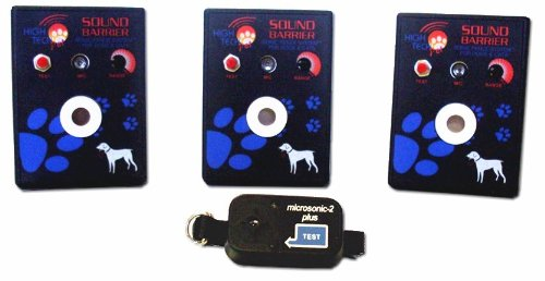 Sound Barrier 3-Station Indoor Sonic Dog & Cat Fence SB-3