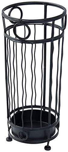 Hierro Forjado Negro paragüero de Almacenamiento Bastidores Independiente paragüero Flor de Caña Cubo de Estante for la Entrada Vestíbulo de la Oficina