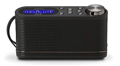 Roberts Radio Play10 DAB/DAB+/FM Digital Radio with Simple Presets - Black by Roberts Radio LTD