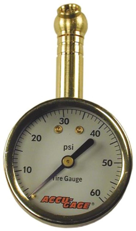 Tire Pressure Gauge: 60 PSI - Accugage 60XGA Tire Gauge