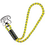 SELEWARE Tow Rope Quick Connector for Tubing with Stainless Steel Connector, Water Sport Towable Connector 17.9'