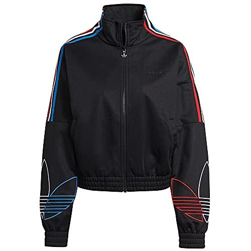 adidas GN2950 Tracktop PB Pullover Womens Black 42